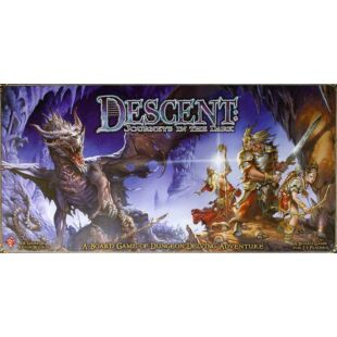 Descent: Journeys in the dark BIZOMÁNYOS társasjáték