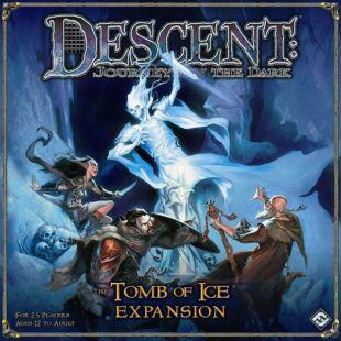 Descent: The tomb of ice kiegészítő BIZOMÁNYOS társasjáték