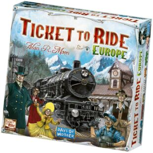 Ticket to Ride - Europe (eng) - /EV/