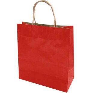 Dísztasak - Piros papír extra nagy