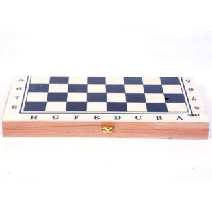 Fa sakk, összecsukható táblával (34 cm x 17 cm)