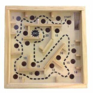 Fa labirintus játék - /EV/