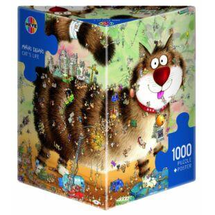 HEYE Puzzle - Cat's life 1000 db - /EV/