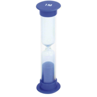 Homokóra - 1 perces (kék színben) - /EV/