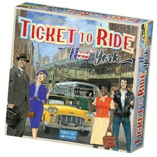 Ticket to Ride: New York (eng)