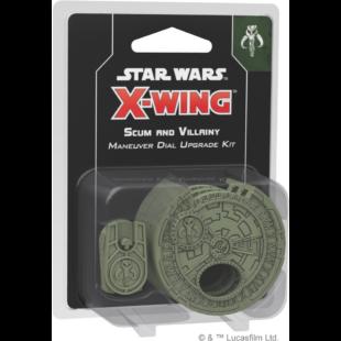 Star Wars X-wing: Scum and Villainy Maneuver Dial Upgrade Kit (eng) - /EV/