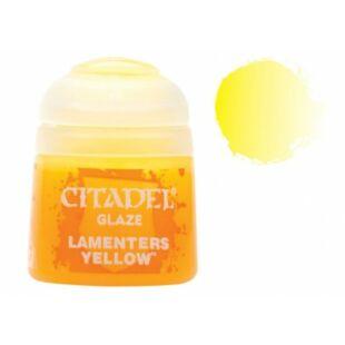 Citadel festék: Glaze - Lamenters Yellow