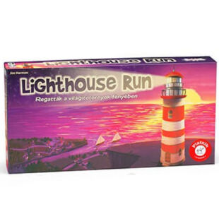 Lighthouse Run - Regatták a világítótornyok fényében társasjáték