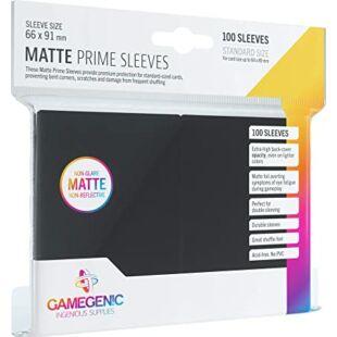 Gamegenic Matte Prime Sleeves - 66 mm x 91 mm - Fekete (100 db)