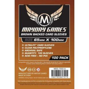 Kártyavédő tok - (100 db) - 65 mm x 100 mm - Mayday Games MDG-7102