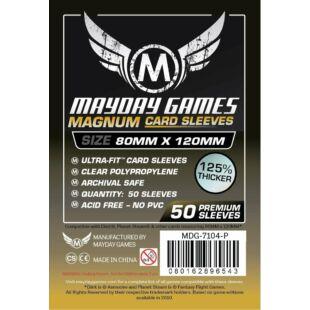 Kártyavédő tok - (50 db) - 80 x 120 mm - Mayday Games MDG-7146