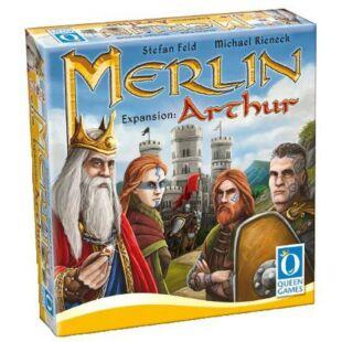 Merlin társasjáték Arthur kiegészítő - /EV/