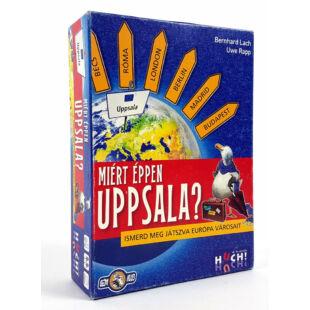 Miért éppen Uppsala? Ismerd meg játszva Európa városait
