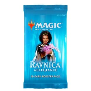 Magic The Gathering: Ravnica Allegiance booster pack (eng) - /EV/