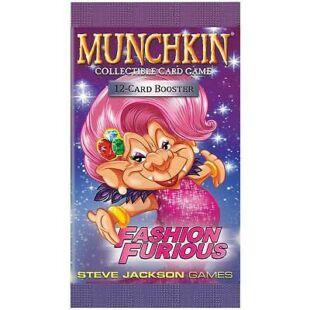 Munchkin CCG Fashion Furious booster pack (eng) - /EV/