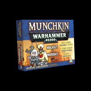 Munchkin Warhammer 40,000 - Malaszt és mordály kiegészítő