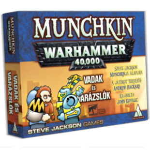 Munchkin Warhammer 40.000 - Vadak és varázslók kiegészítő