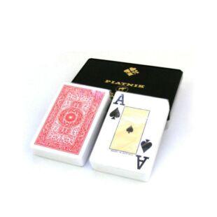 Kártya - francia kártya 100% plasztik, Piatnik
