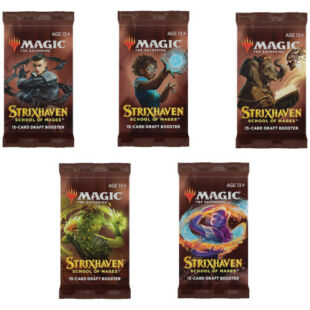 Magic The Gathering: Strixhaven - School of Mages - Booster Pack