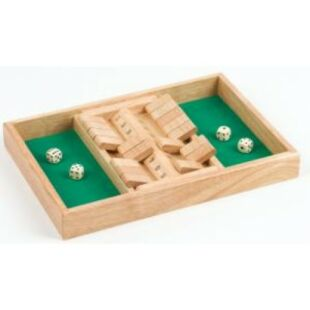 Shut the box Double - két főre - /EV/