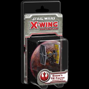 Star Wars X-wing: Sabine's TIE Fighter kiegészítő (eng) - /EV/