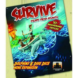 Survive - Dolphins & Dive dice mini kiegészítő (eng)