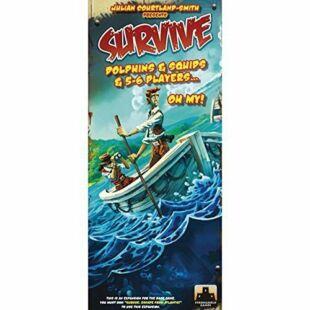 Survive - Dolphins & Squids & 5-6 fős kiegészítő csomag (eng) - /EV/