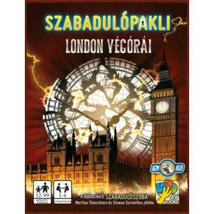 Szabadulópakli - London végórái