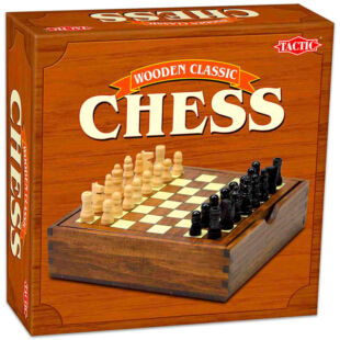 Klasszikus, fa sakk készlet
