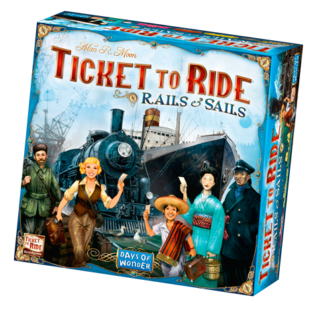 Ticket to Ride- Rails and Sails (eng) - /EV/