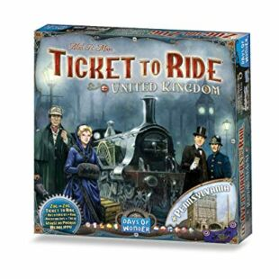 Ticket to Ride Map Collection : United Kingdom - Pennsylvania (eng)
