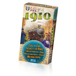 Ticket to Ride - USA 1910 mini kiegészítő