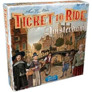 Ticket to Ride - Amsterdam (eng)
