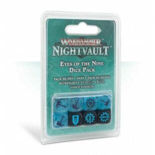 Warhammer Underworld: Nightvault: Eyes of the Nine Dice Pack - kocka csomag