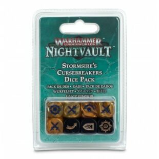 Warhammer Underworld: Stormsire's Cursebreakers dice pack