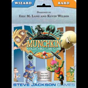 Wizard and Bard Starter Set: Munchkin CCG (eng) - /EV/