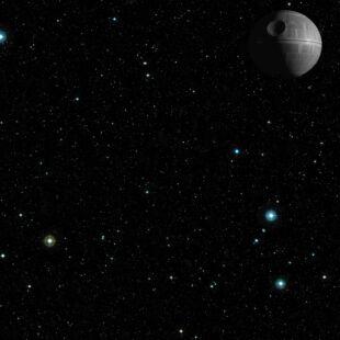 Playmat - Star Wars X-wing - Death Star