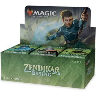 Magic the Gathering: Zendikar Rising booster pack (eng) /EV/