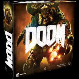 DOOM: the Board Game - NEW (2016-os kiadás) - /EV/