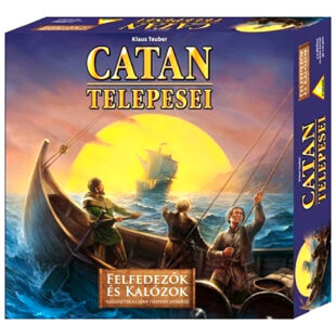 Catan telepesei Felfedezők és Kalózok