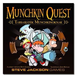 Munchkin Quest - Társasjáték Munchkinoknak