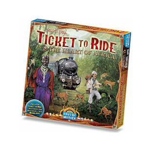 Ticket to Ride - The Heart of Africa (eng)