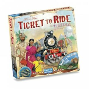 Ticket to Ride - India and Switzerland (eng)