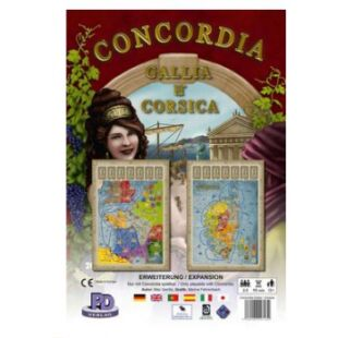 Concordia: Gallia & Corsica kiegészítő