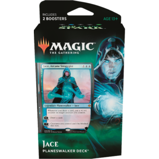 Magic The Gathering: War of the Spark- Planeswalker Deck (Jace) - /EV/