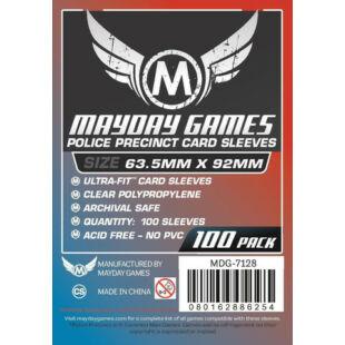 Kártyavédő tok - (100 db) - 63,5 x 92 mm - Mayday Games MDG-7128