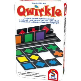Qwirkle - Formák, színek, kombinációk! Fémdobozos