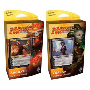 Magic The Gathering: Rivals of Ixalan Planeswalker deck (Angrath) - /EV/