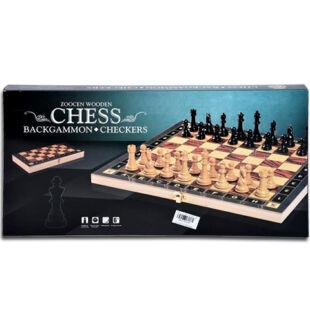 3 az 1-ben sakk, backgammon, dáma készlet