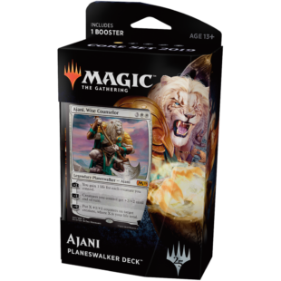 Magic The Gathering: Core 19 Planeswalker deck (Ajani) - /EV/